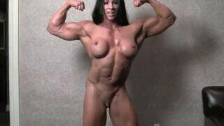 youporn free xxx video nude woman bodybuilder Angela Salvagno naked